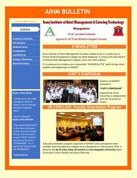 E-Newsletter 2016