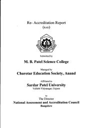 College Information brochure- RAR Report