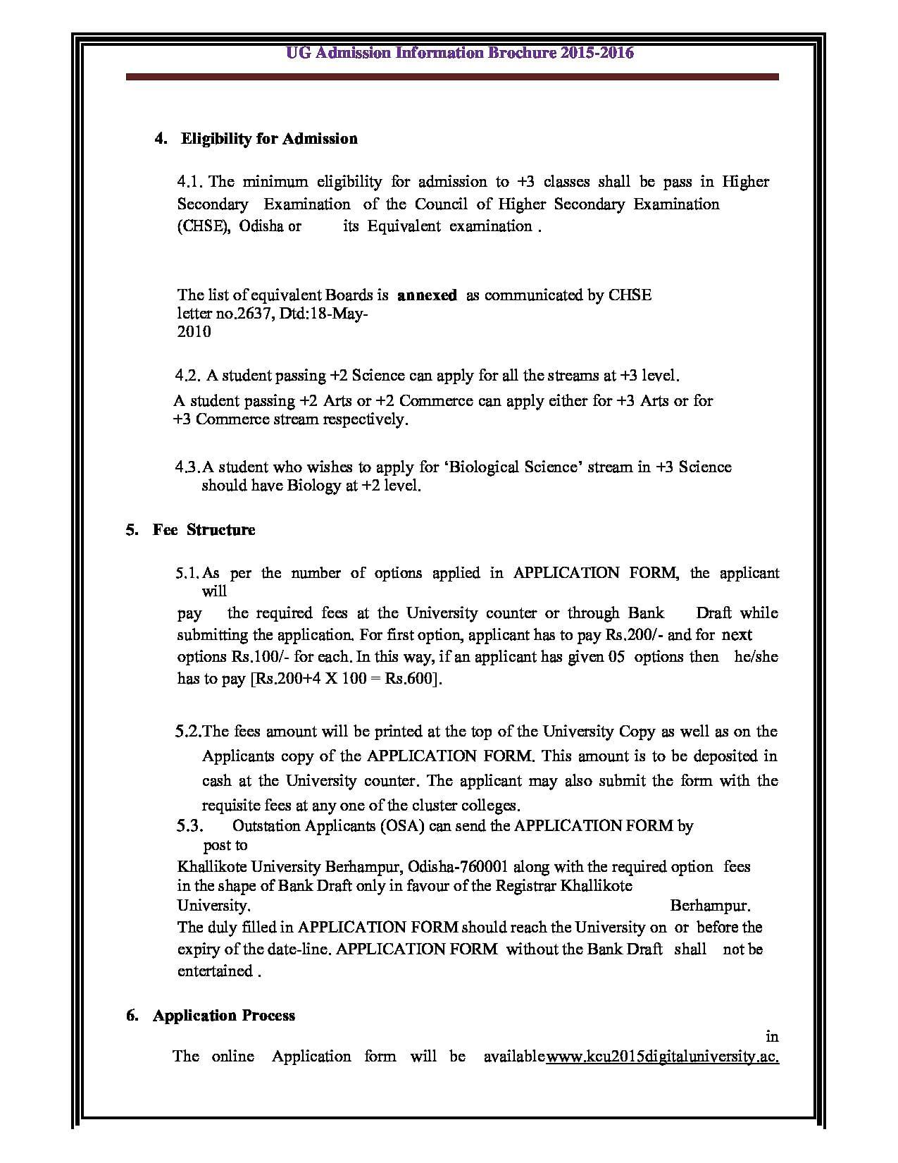 Khallikote autonomous college berhampur admissions contact 2016brochure thecheapjerseys Images