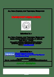 Mandatory Disclosure - MBA