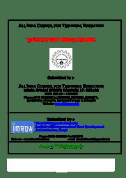 Mandatory Disclosure - MCA