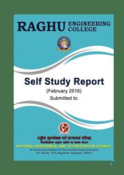 SSR-NAAC Report 2016