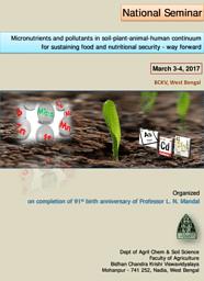 Dept. of Agricultural Chemical & Soil Science Brochure