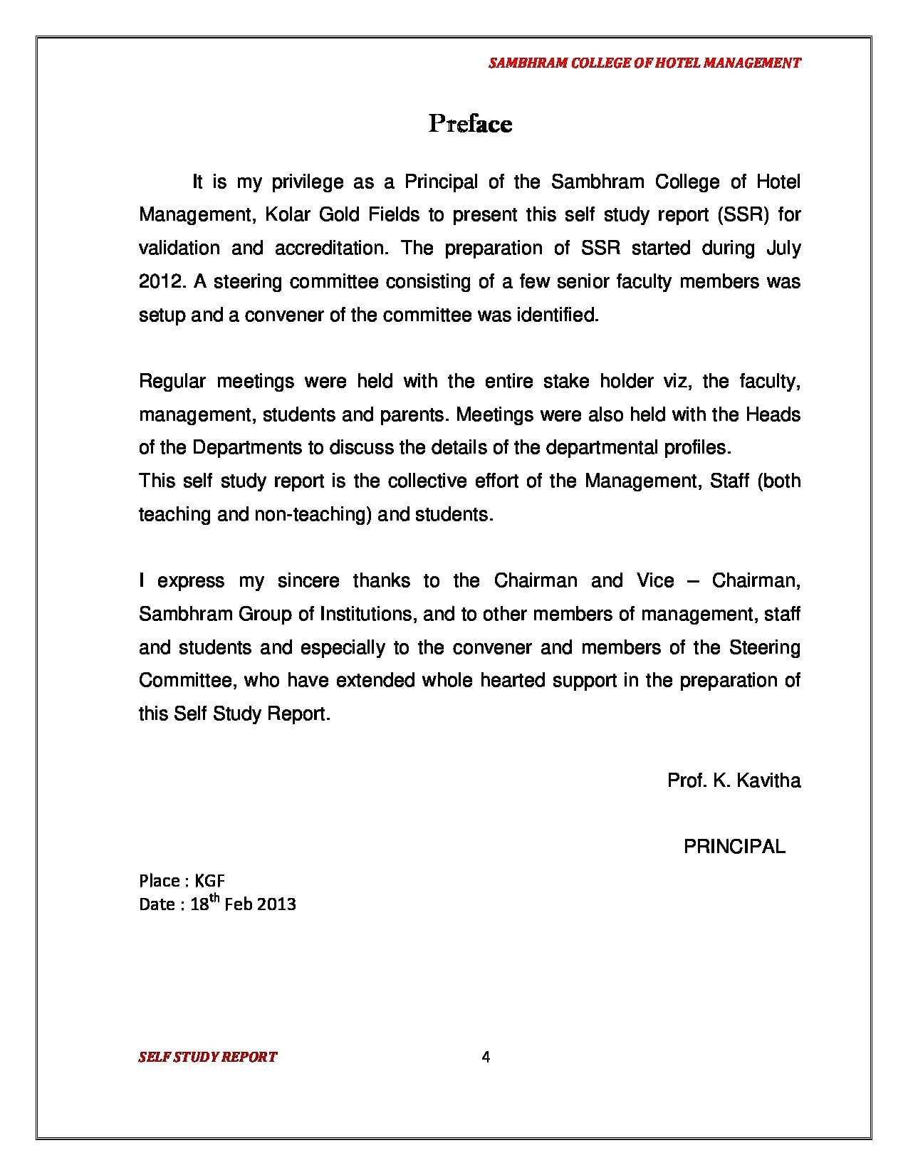 Sambhram College Of Hotel Management Schm Kolar