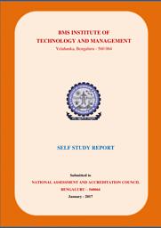 NAAC Self Study Report