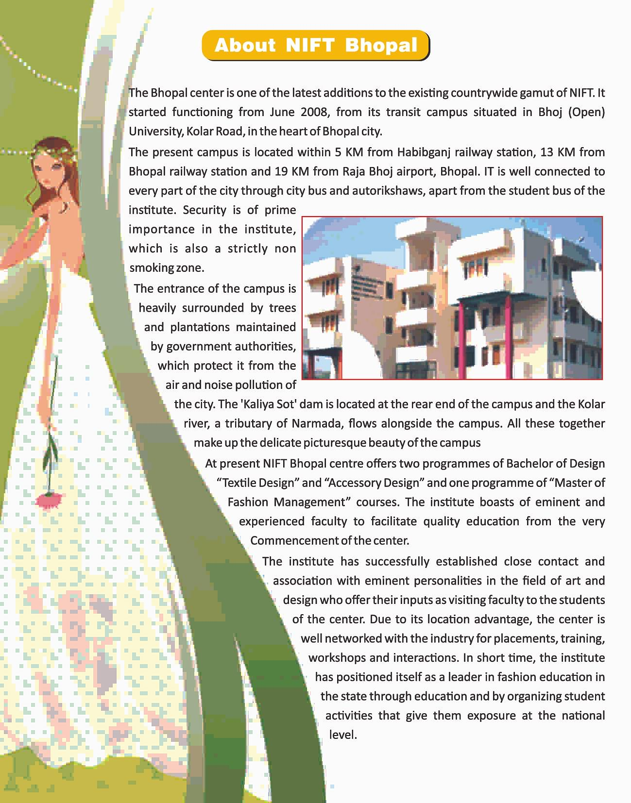 Fashion Designing Course College In Bhopal