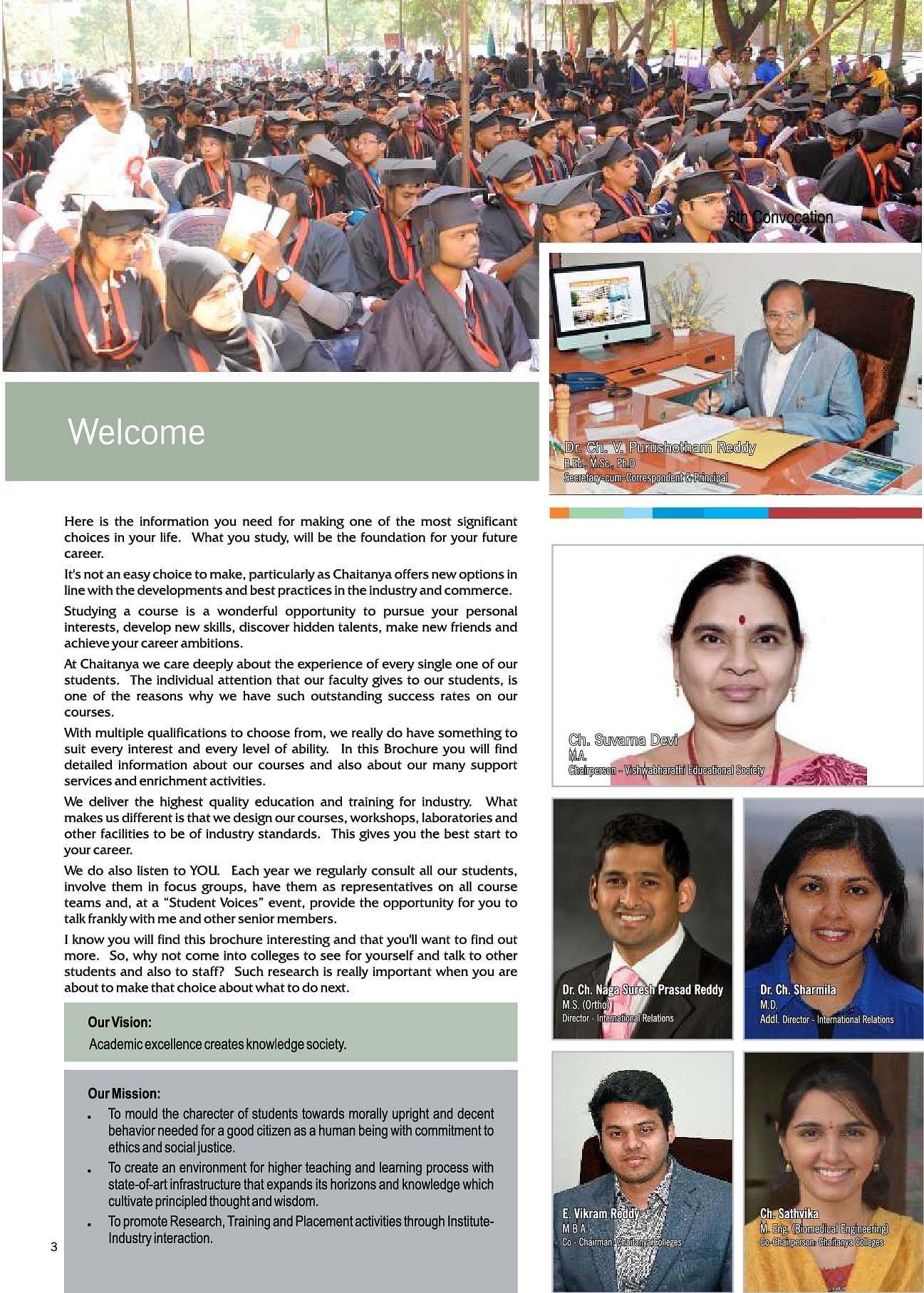 Chaitanya College of Pharmacy Education and Research, Warangal