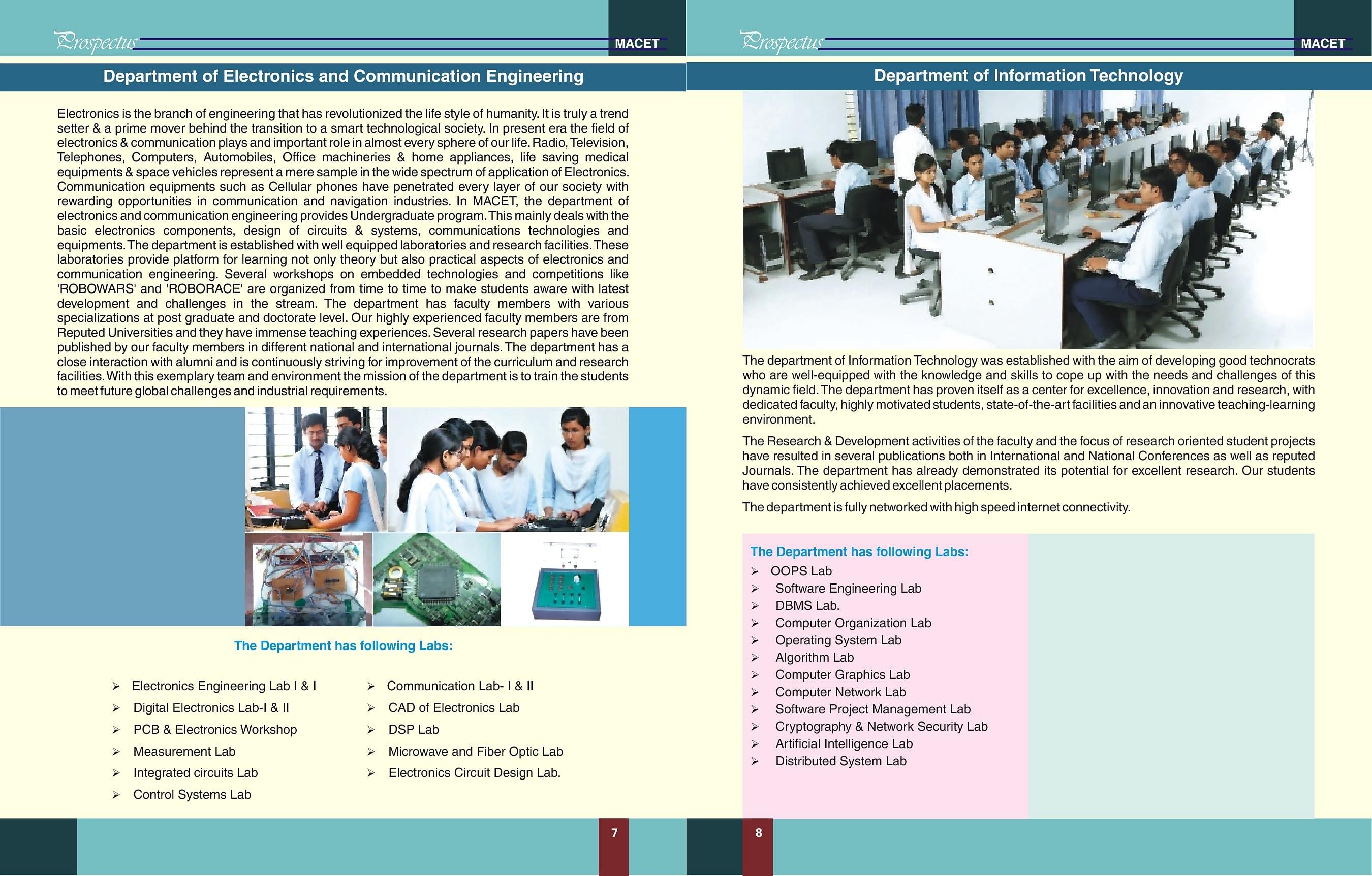 Maharaja Agrasen College Of Engineering Technology Macet Jigmod Electronic Circuit Building System Electronicslab 2017prospectus