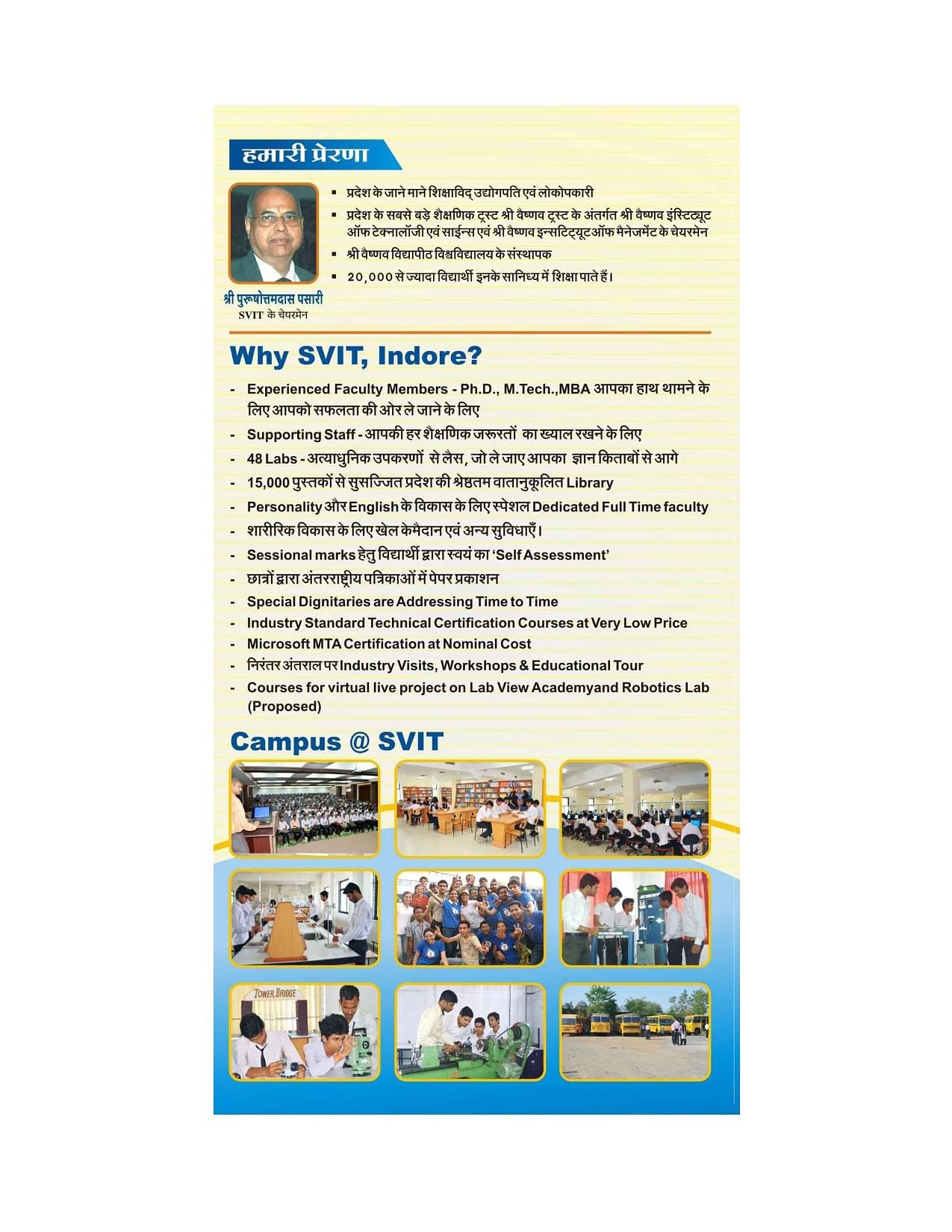 Shri venkteshwar institute of technology svit indore 2017brochure 1betcityfo Gallery