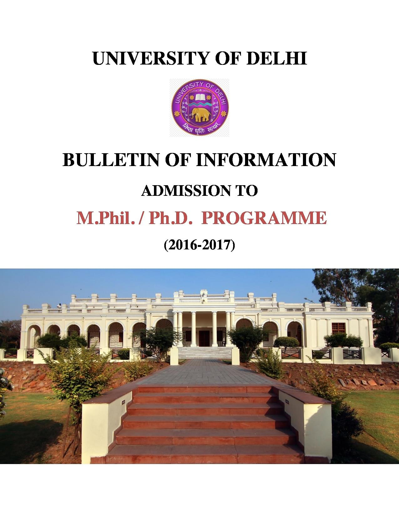 delhi university phd thesis Now, you can 'buy' a phd thesis for rs 55,000 in delhi - the shopkeepers claim that faculty from reputed institutes like jnu and du is hired to work on the thesis.