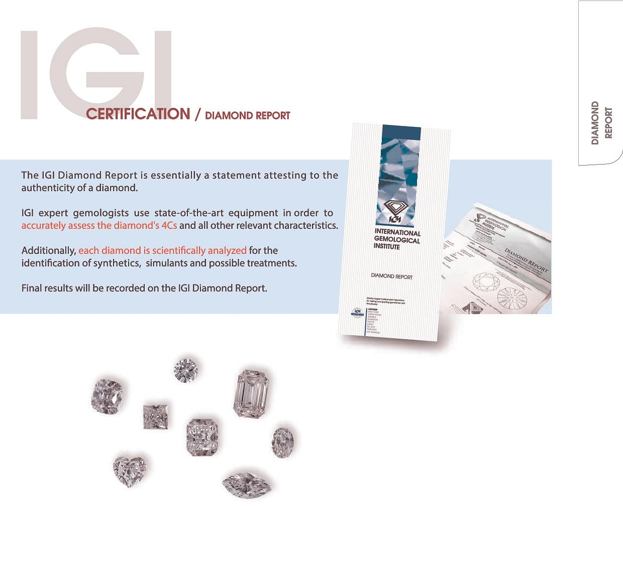 igi education information online diamond certificates centre