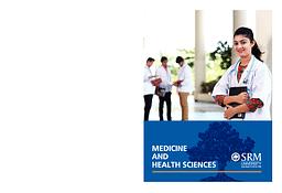 Medicine and Health Sciences Brochure