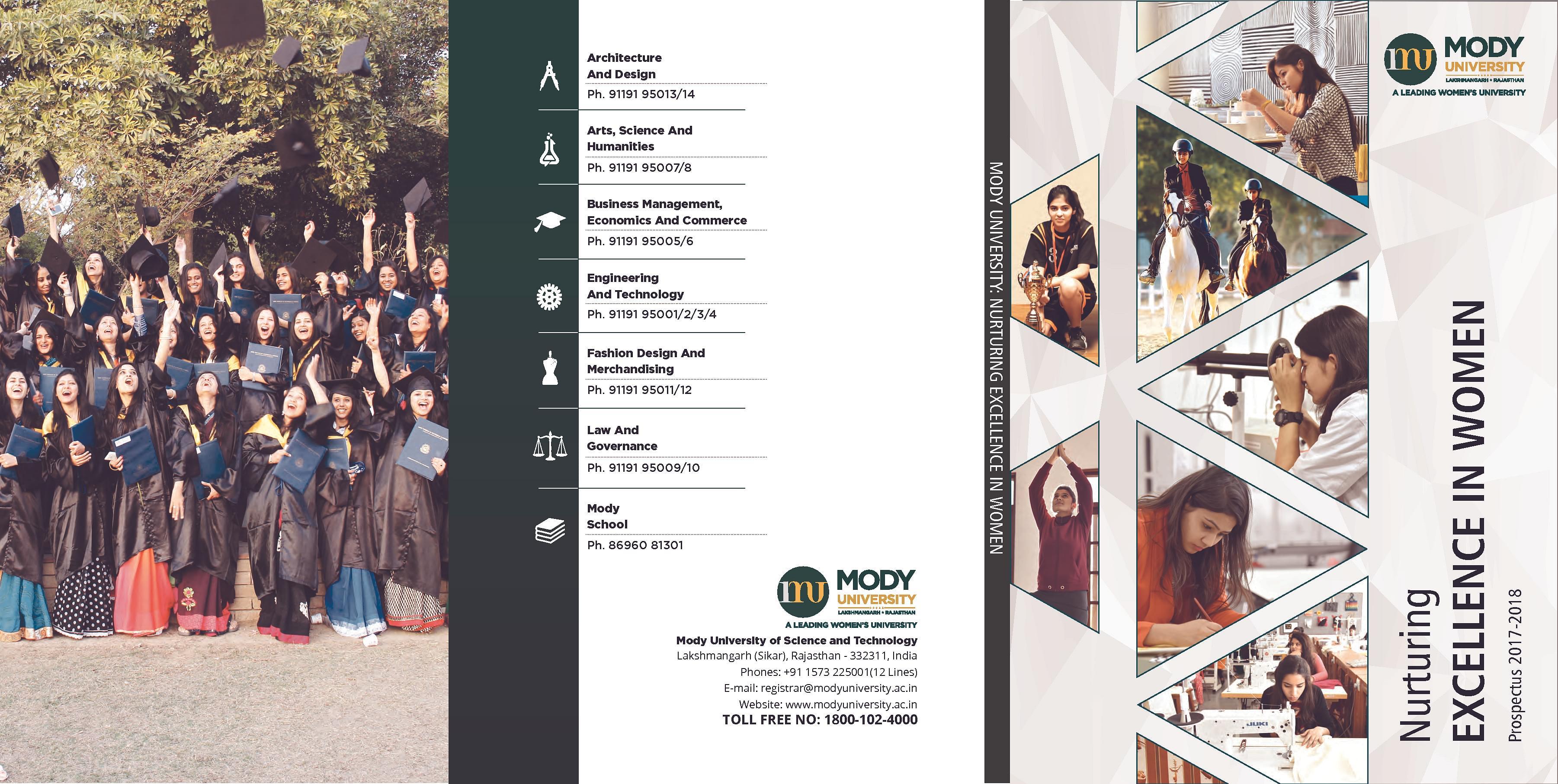 Mody University College Of Fashion Design And