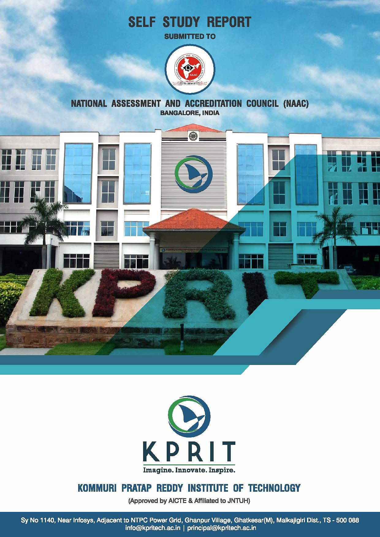 Kommuri Pratap Reddy Institute of Technology - [KPRIT], Ghatkesar