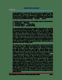 Self Study Report(2013)