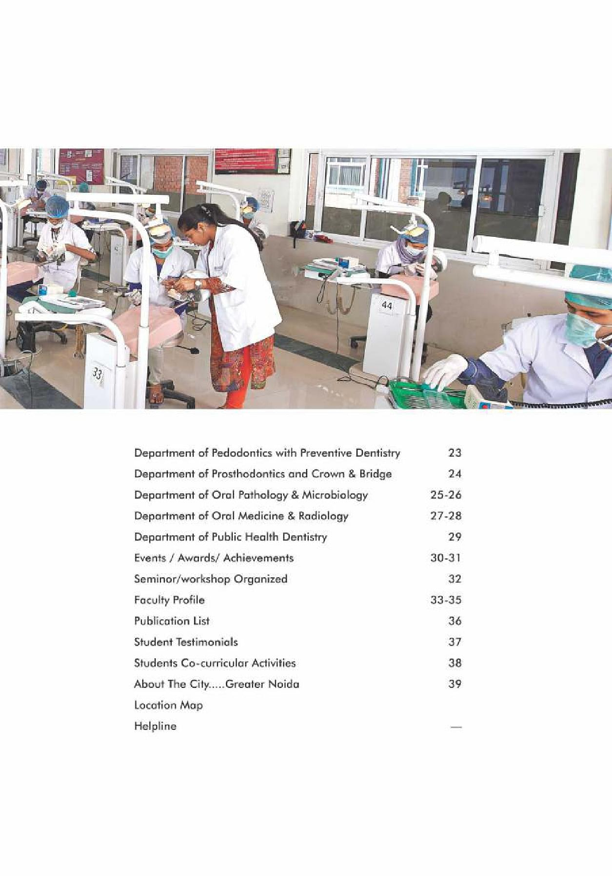 Sharda University, School of Dental Sciences - [SDS], Greater Noida
