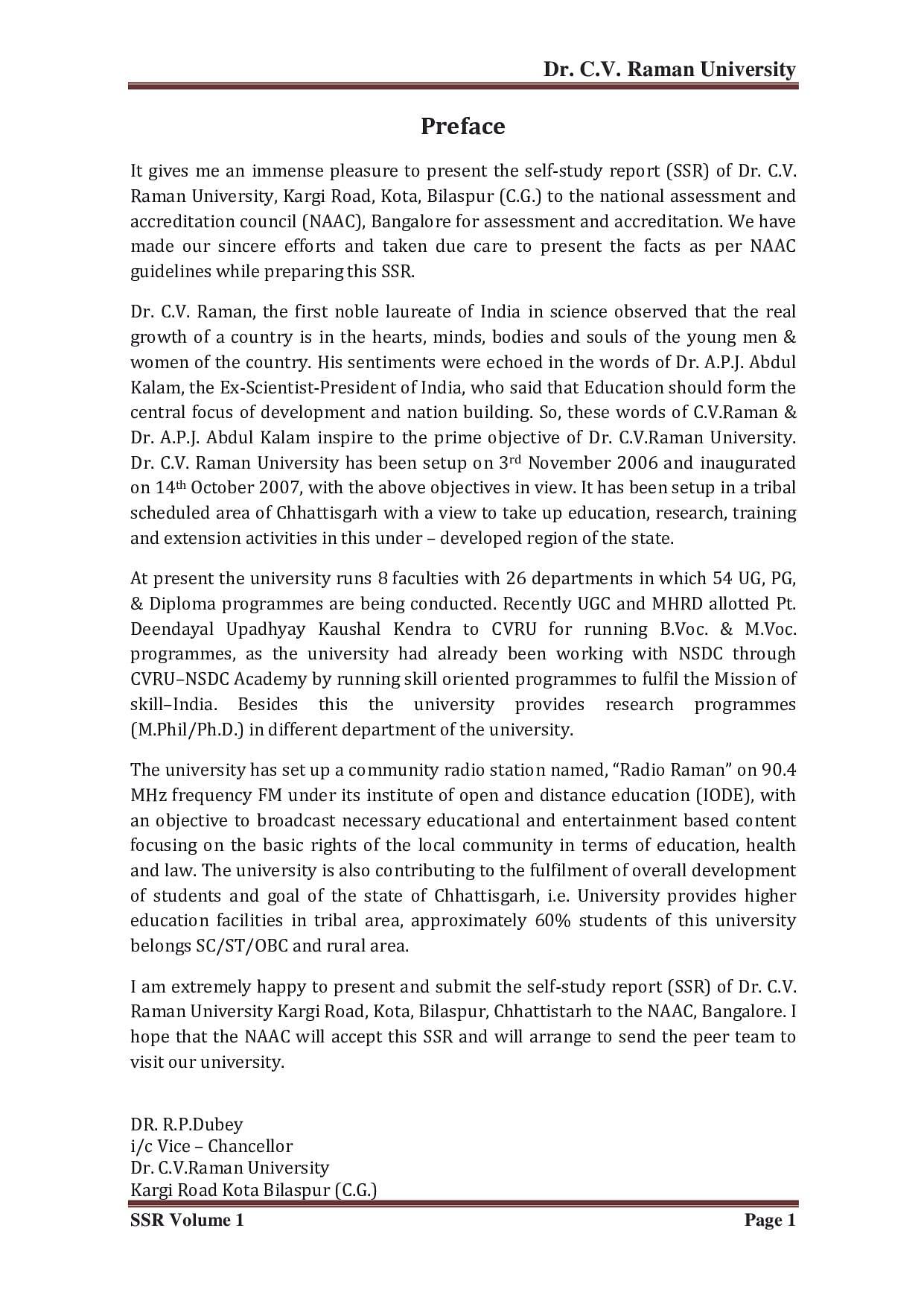 cv raman university result 2019