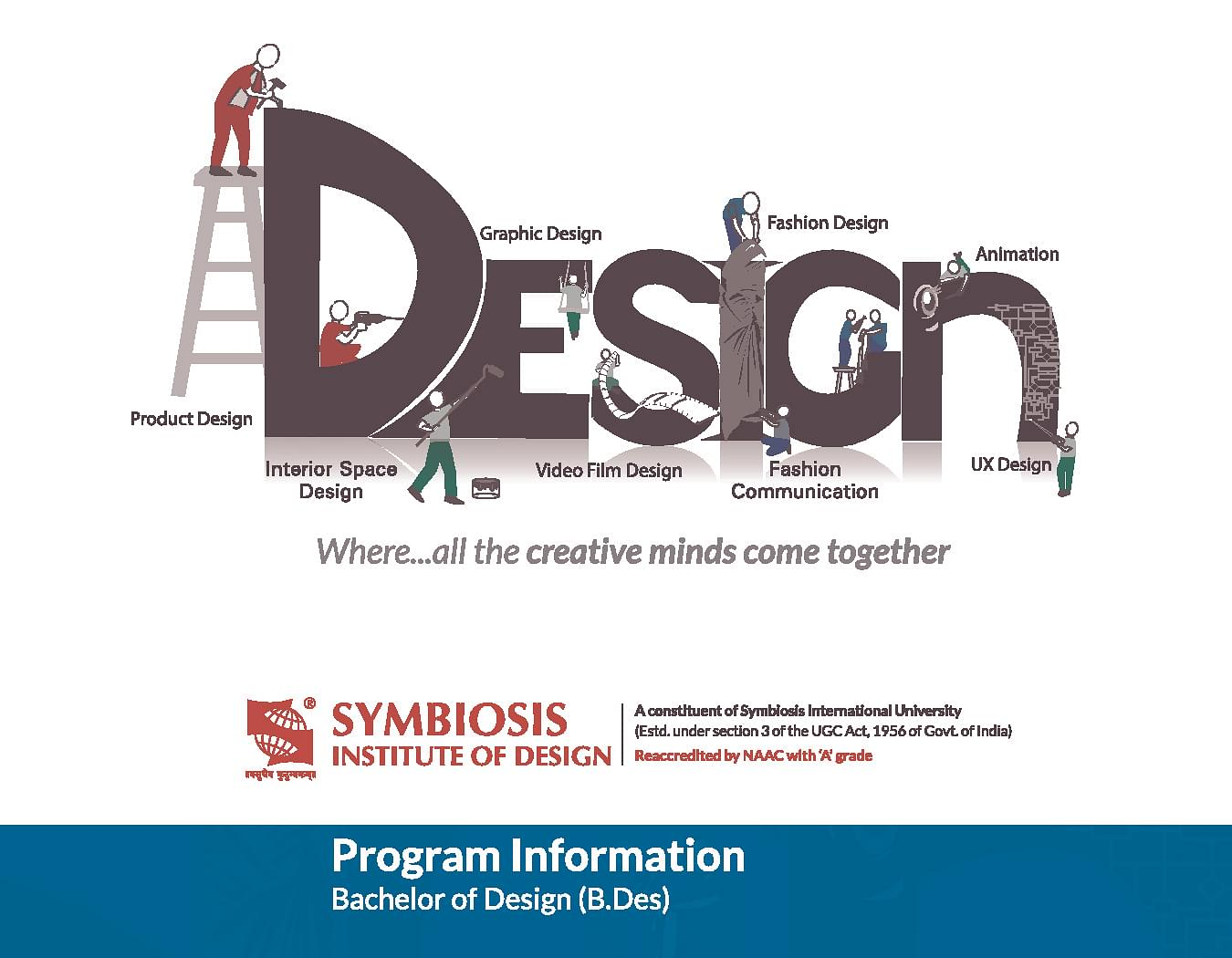 Symbiosis Institute of Design - [SID], Pune Information Brochure image 1