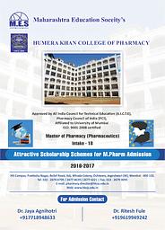 Scholarship Scheme for M.Pharm.