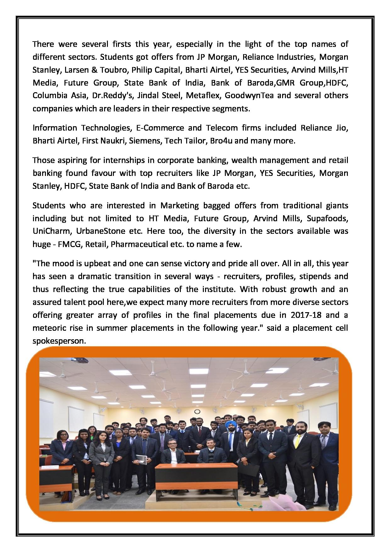 IIM Jammu - Placement, Courses, Fees, Admissions, Cut Off 2019