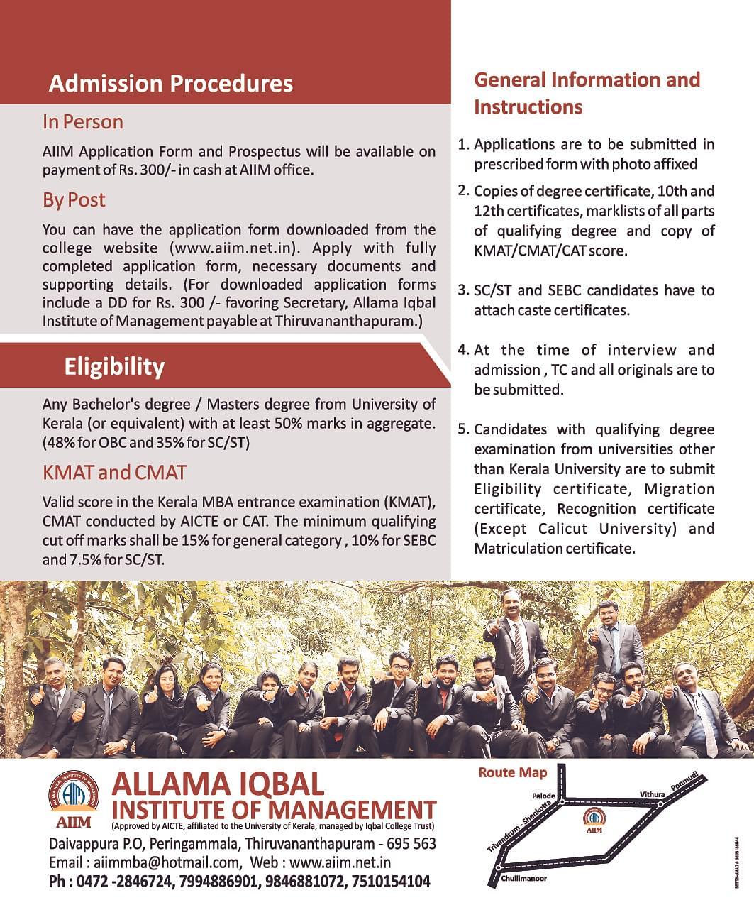 Allama Iqbal Institute Of Management Aiim