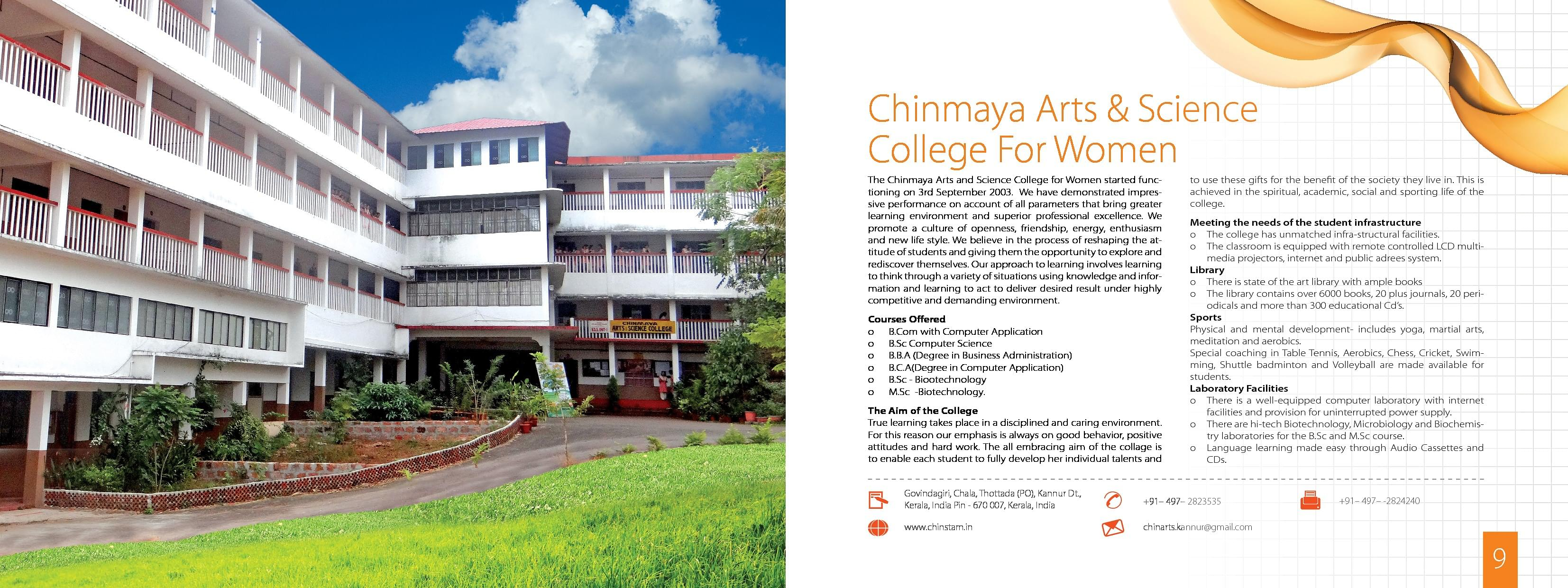 Chinmaya Institute Of Technology Kannur Admissions