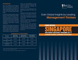 Singapore Brochure