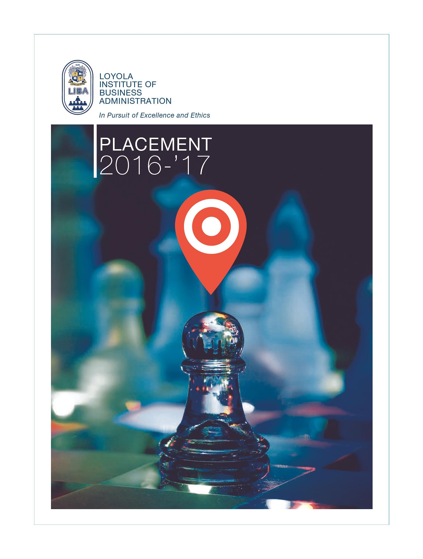 Loyola institute of business administration liba chennai loyola institute of business administration liba chennai placement brochure image 1 xflitez Image collections