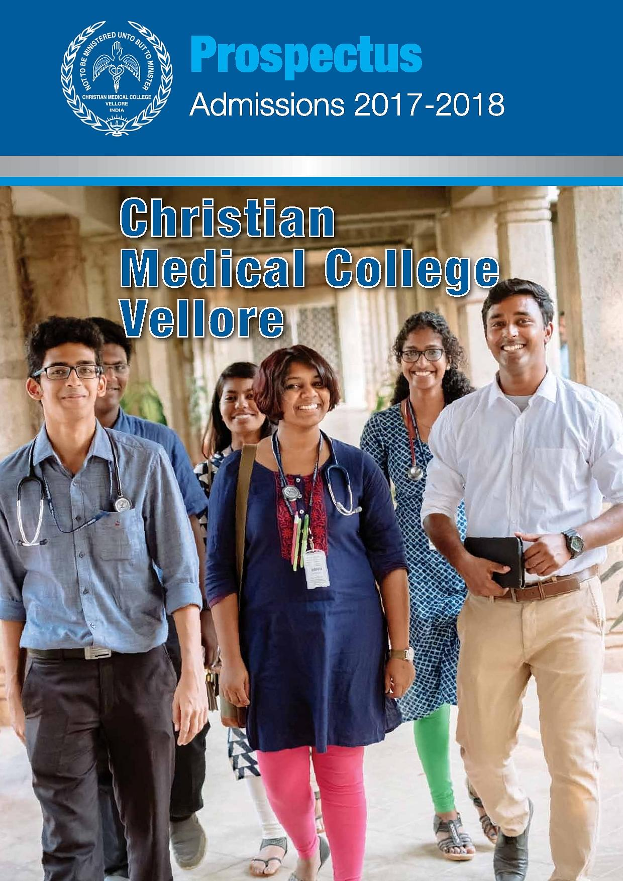 CMC Vellore - Course, Fees, Results, Scholarships, Highlights