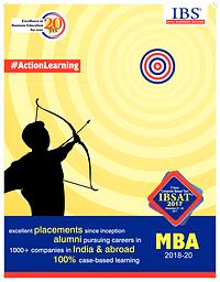 IBSAT - MBA 2018