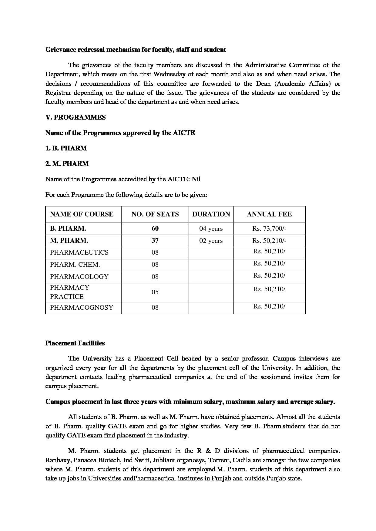 Punjabi University, Patiala - Courses, Fees, Admissions 2019