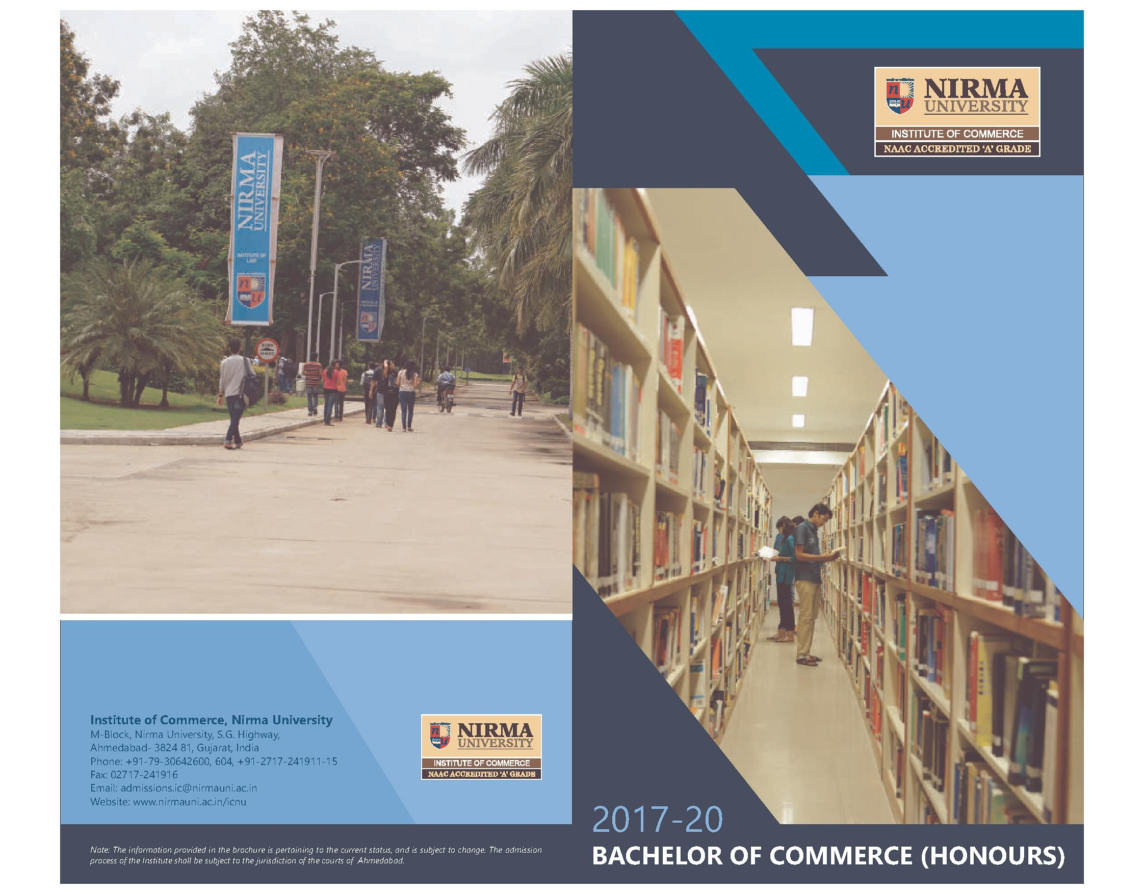 Nirma University Campus, Profile | Eclat Engineering Pvt  Ltd