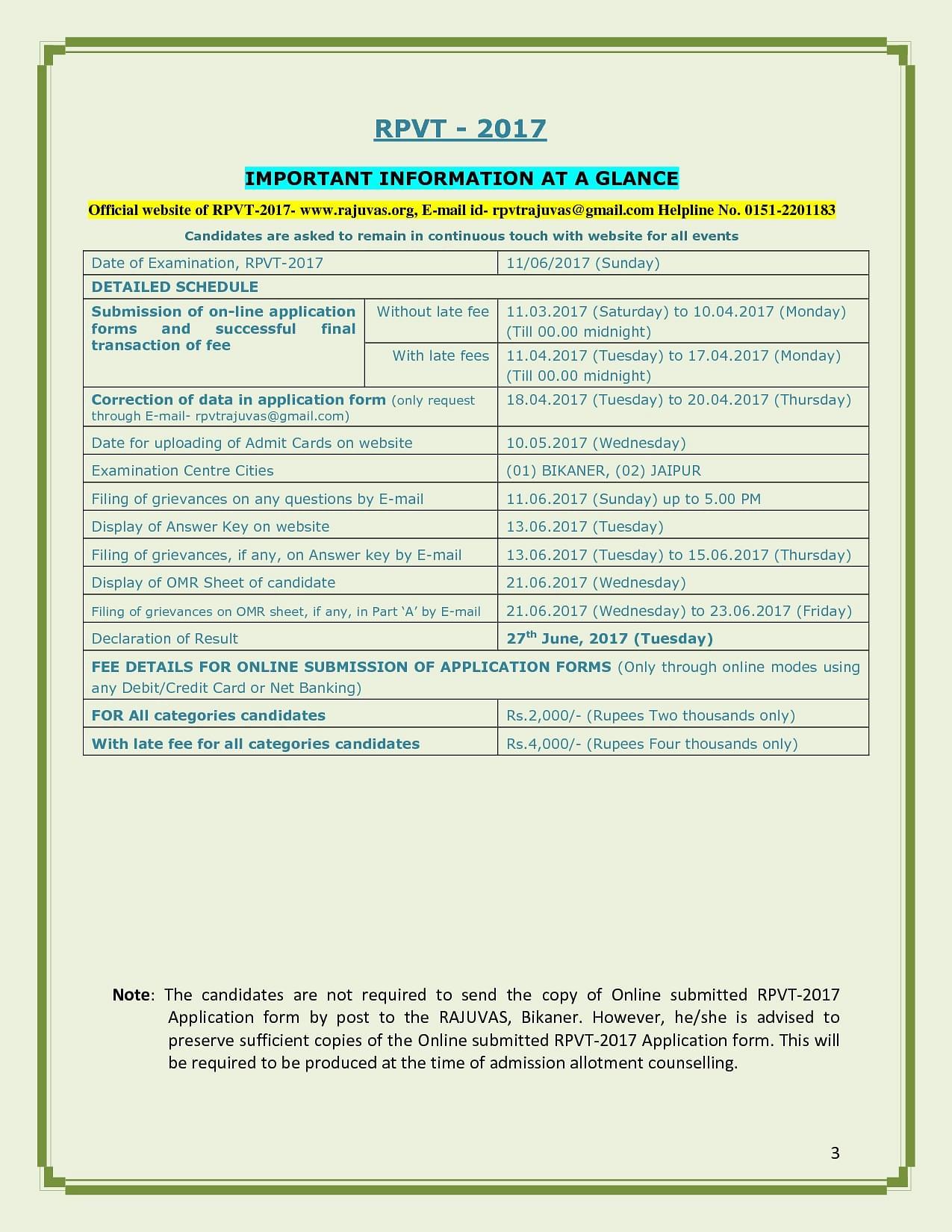 Rajasthan University of Veterinary & Animal Sciences, Bikaner