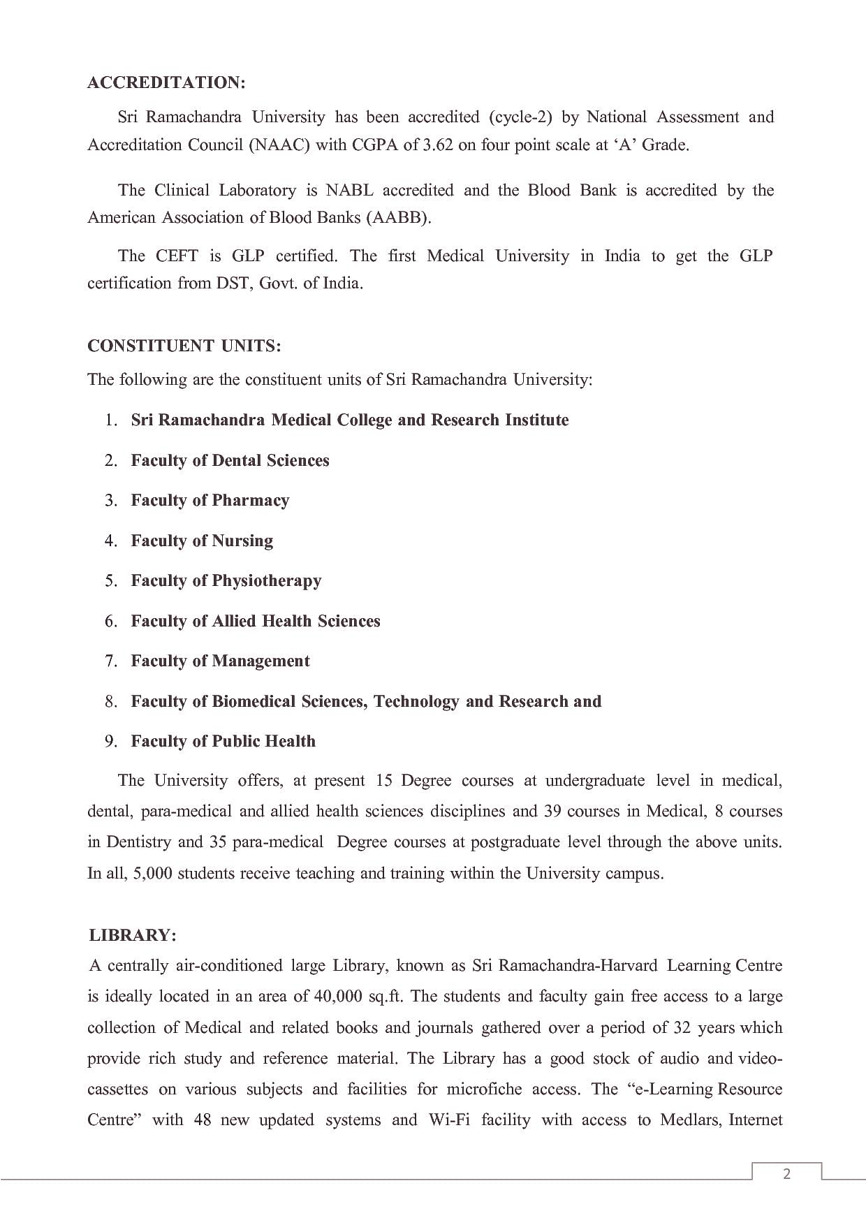 Sri Ramachandra University, Chennai - Admissions, Contact, Website on medical background, medical application letter, medical interview, medical questionnaire, medical application printable, medical application design, medical management, medical floor plan, medical rules, medical history, medical insurance, medical training, medical application symbol, medical articles, medical references, medical schedule, medical resume, medical apps, medical letters of recommendation, healthcare form,
