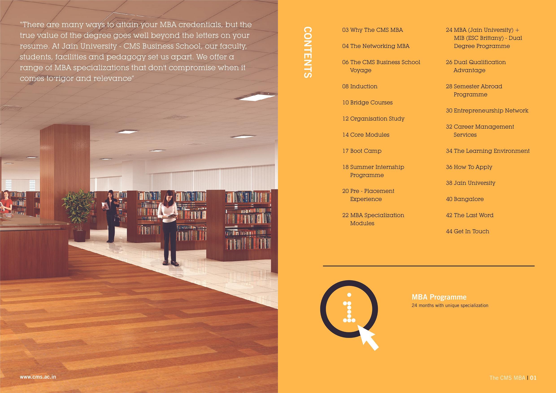 CMS Business School Jain University Bangalore Admissions