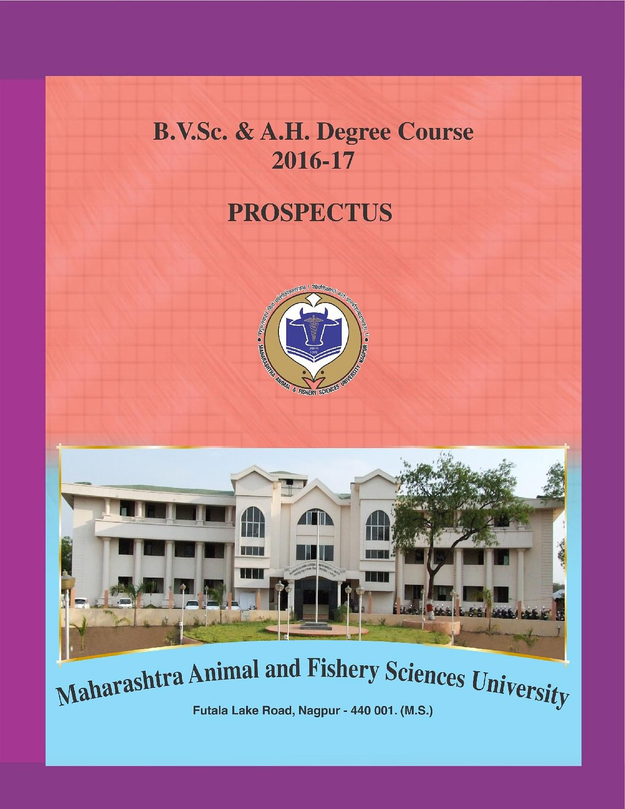 Bombay Veterinary College Bvc Mumbai Admissions Contact