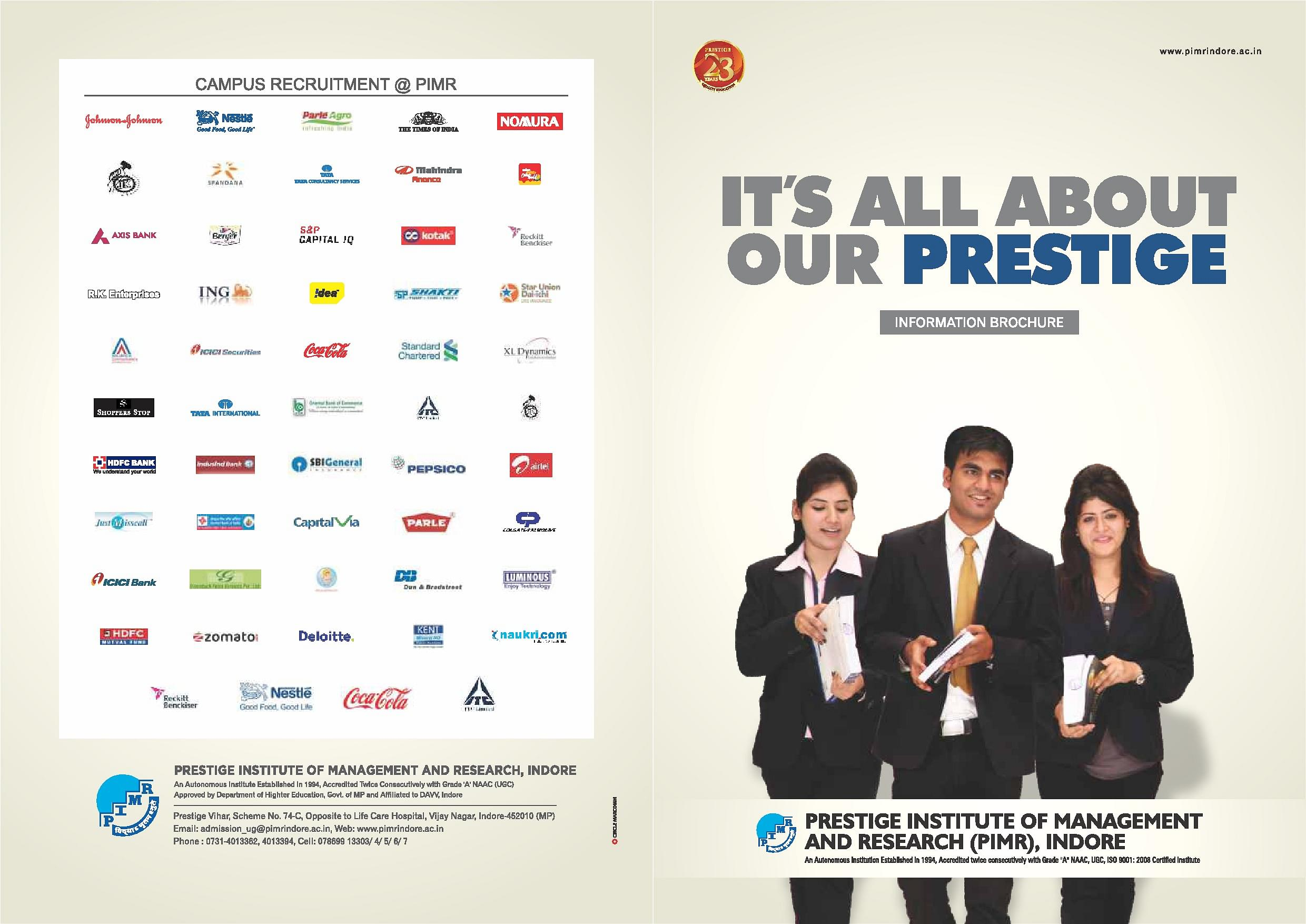 Prestige Institute Of Management And Research Pimr