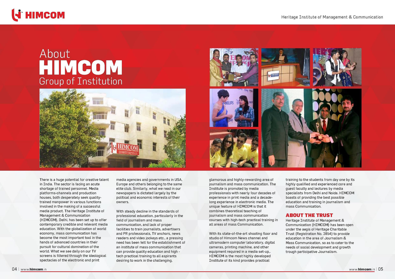 Heritage Institute of Management & Communication - [HIMCOM], New