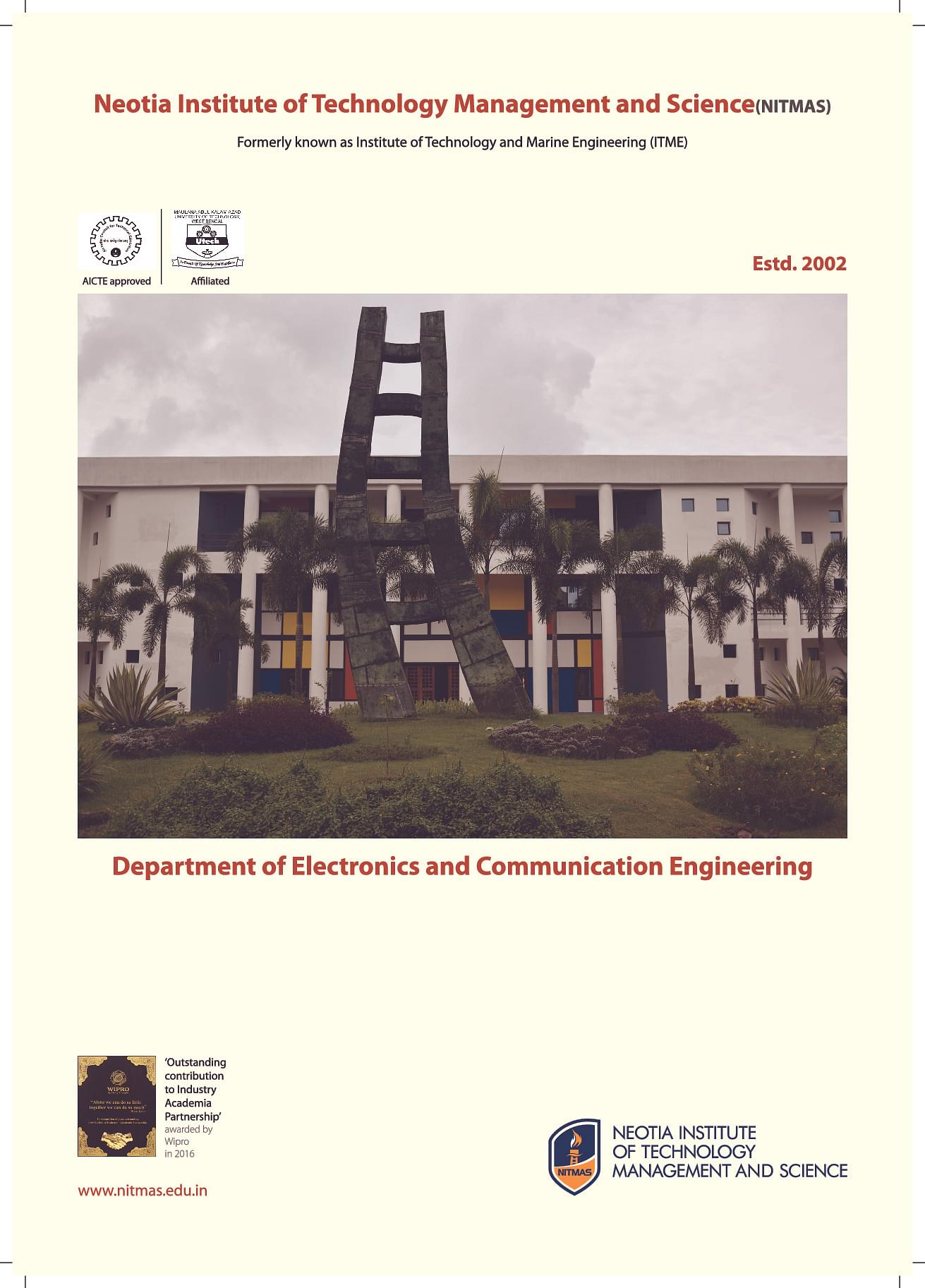 Technology Management Image: Neotia Institute Of Technology Management And Science