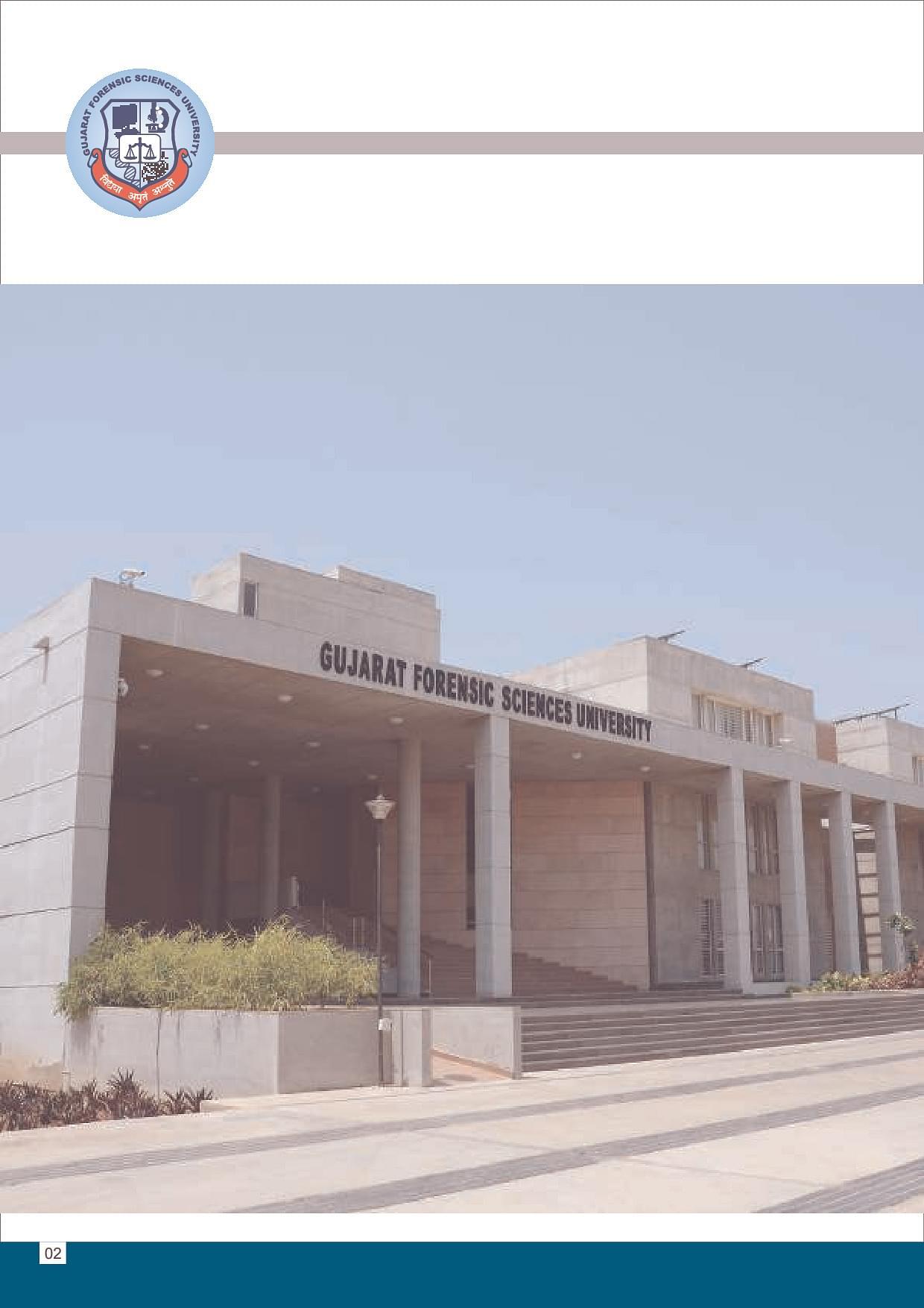 Gujarat Forensic Sciences University Gfsu Gandhi