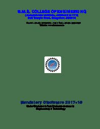 Mandatory Disclosure 2017-18
