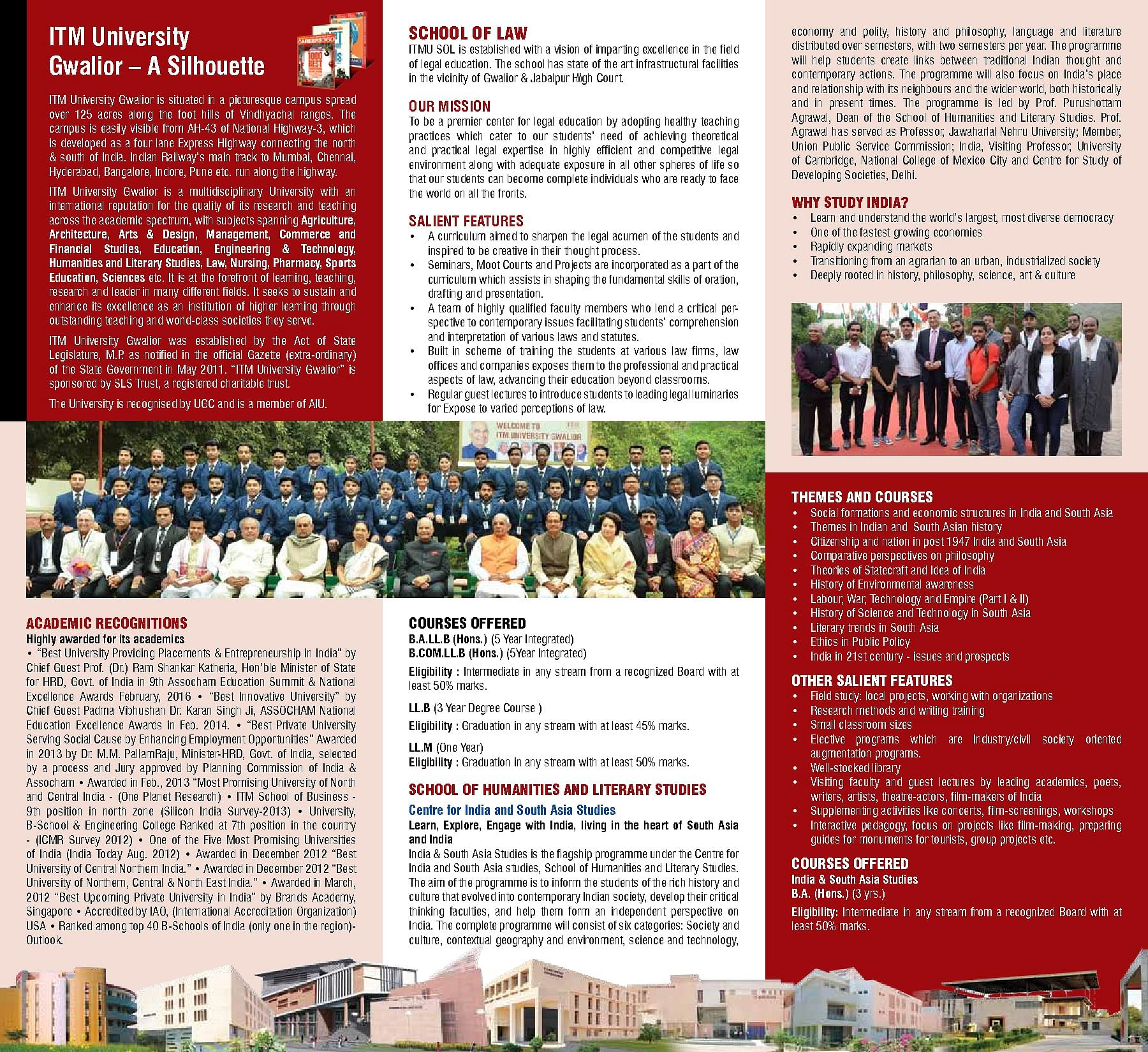 Itm University Gwalior Admissions Contact Website Facilities 3d Plant Cell Diagram 8 Grade Image Galleries Imagekbcom 2018school