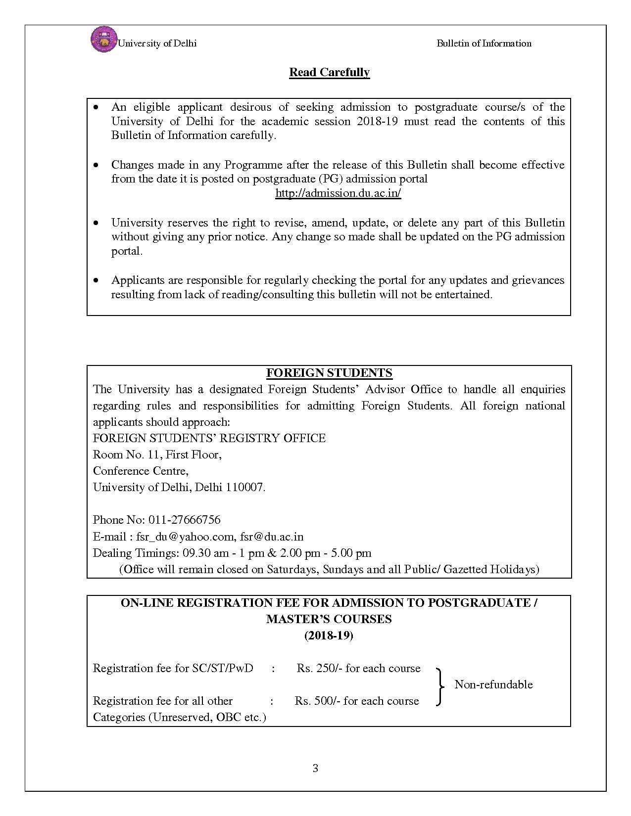 Delhi University (DU)- Admission, Cut off 2019, Courses, Fees, Colleges