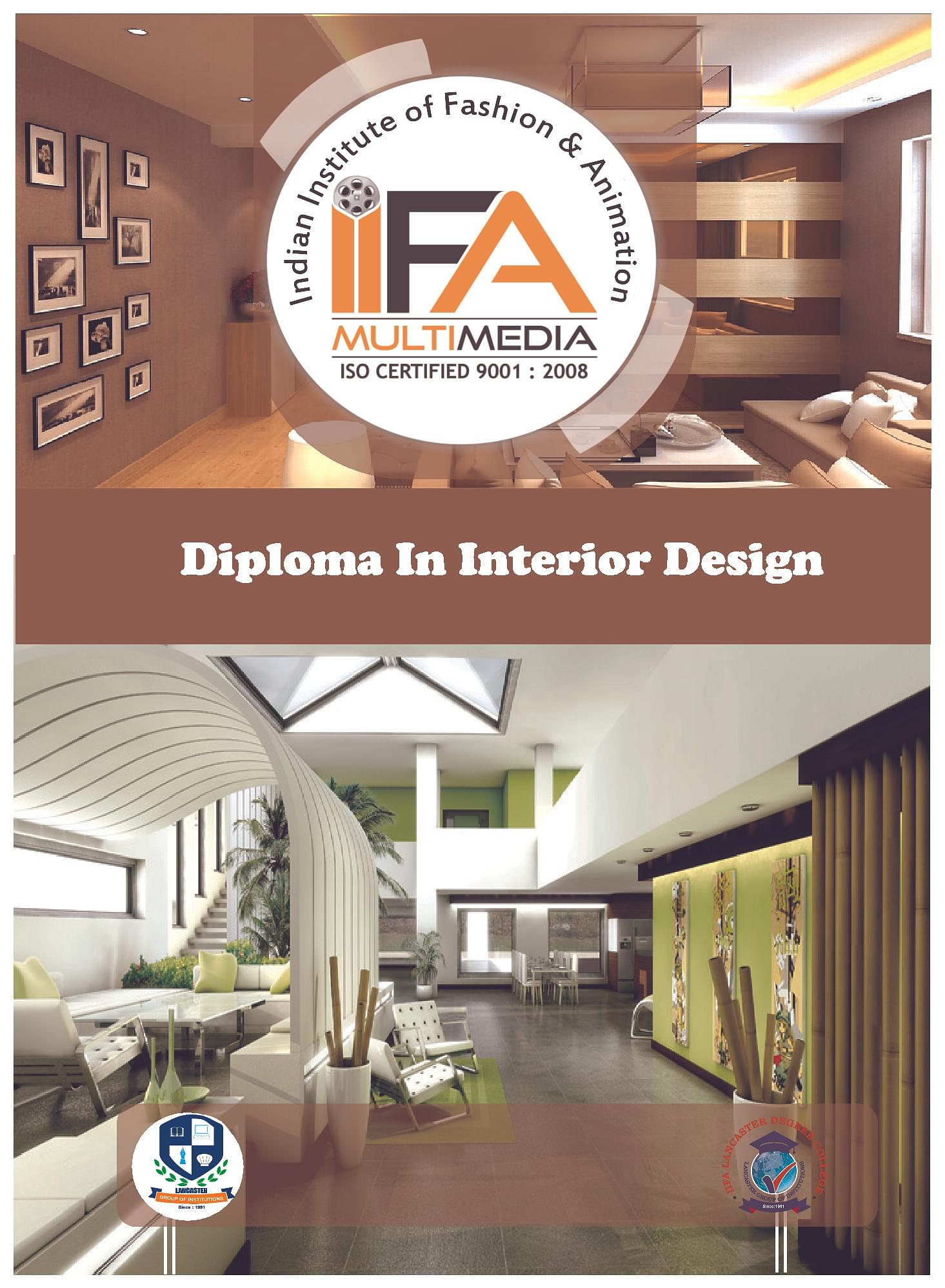 Iifa multimedia bangalore admissions contact website - Interior designing colleges in bangalore ...