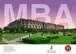MBA Prospectus