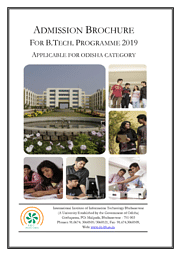 B.Tech Brochure 2019