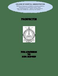 Prospectous MHA (19-20)