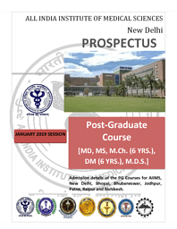 PG-Admission Brochure
