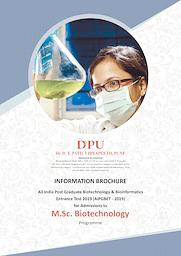 M_Sc. Biotechnology