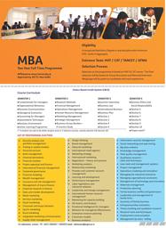 Prospectus - MBA